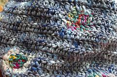 Detské doplnky - Modrý nákrčník - 8700984_