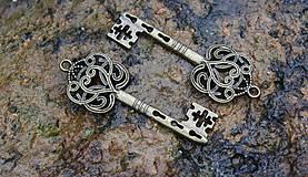 - kovová ozdoba kľúč  - 8699123_