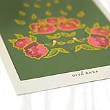 Grafika - Art Print - sýkorka - 8699981_