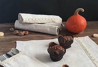 Úžitkový textil - Prestieranie z ľanového plátna - 8699556_