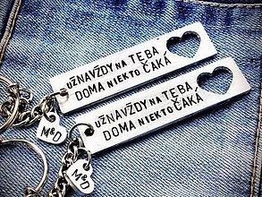 Kľúčenky - už NAVŽDY na TEBA DOMA niekto ČAKÁ - 8702410_