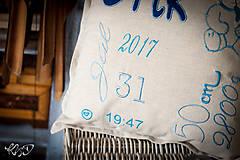 """Úžitkový textil - Vankúšik pre novorodenca """"Erik"""" - 8704884_"""