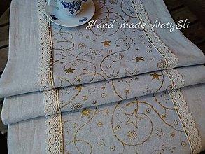 Úžitkový textil - Vianočná štóla - 8704473_