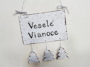 Dekorácie - Vianočná tabuľka - 8705070_