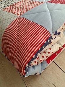 Úžitkový textil - Patchwork deka* - 8705037_