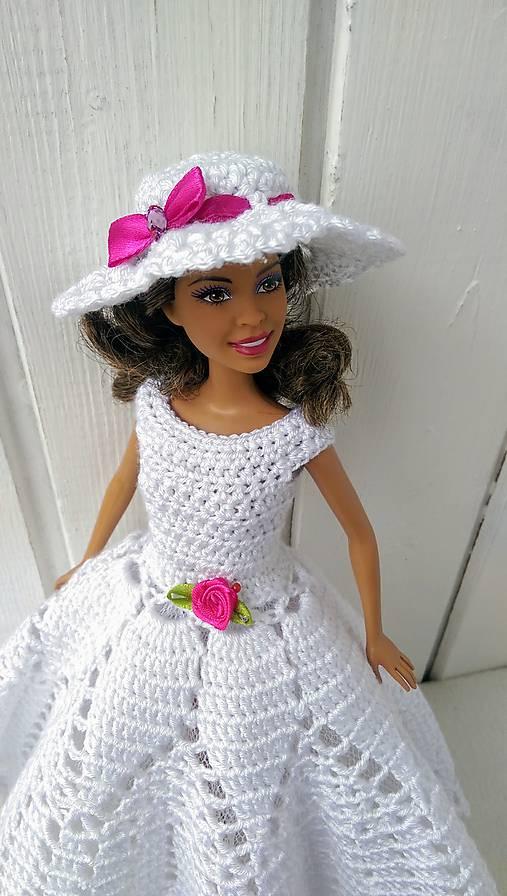 039a422f2874 Háčkované šaty biele 2 pre Barbie   natalimilusa - SAShE.sk ...