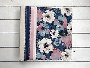 Papiernictvo - Fotoalbum na rožky 30x30cm - 8702117_