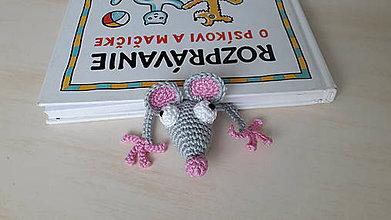 Hračky - Záložka Myška - 8702057_