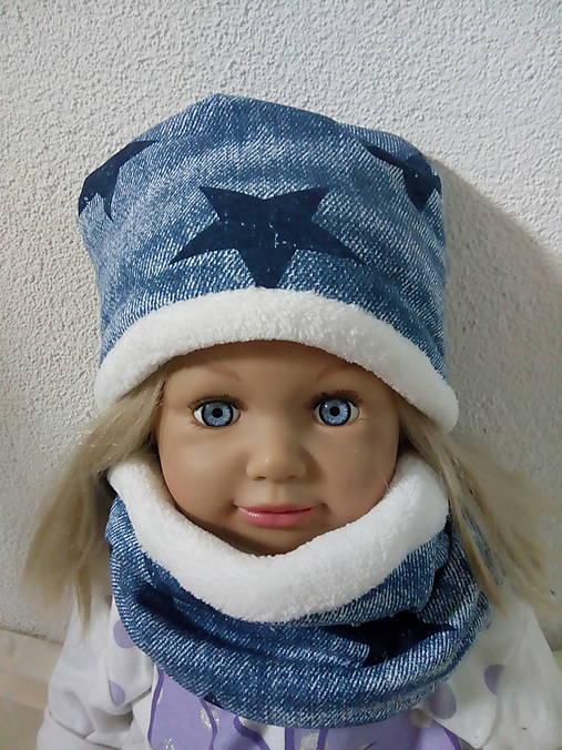d76389fe4ace Zimný detský setik- čiapka+nákrčnik   jjduda - SAShE.sk - Handmade ...