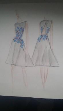 Šaty - Šaty navrhnuté pre zákazníčku - 8703662_