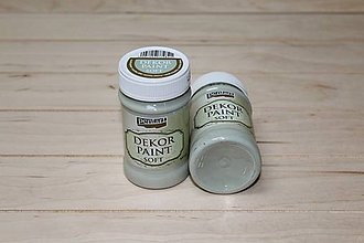 Farby-laky - Decort Paint Soft 100ml-country zelená - 8703789_
