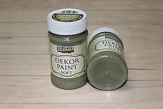 Farby-laky - Decort Paint Soft 100ml-olivová - 8703801_