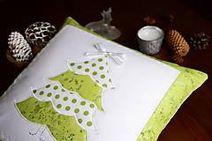 Úžitkový textil - Vankúš vianočný - 8703078_