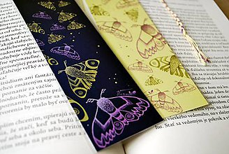 Papiernictvo - Nočné motýle - séria záložiek - 8702416_