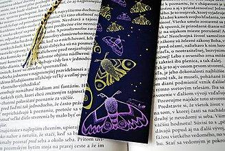 Papiernictvo - Nočné motýle - Mesačná verzia - 8702438_