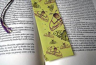 Papiernictvo - Nočné motýle - Slnečná verzia - 8702453_