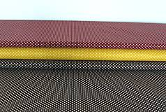 Textil - Látky bodkované  2 mm - 8703346_