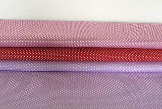 Textil - Látky bodkované  2mm - 8703358_