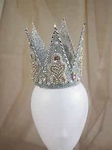 Ozdoby do vlasov - královská koruna - 8703951_