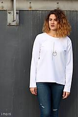 Mikiny - Dámska mikina biela IO8 - 8703227_