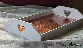 Krabičky - Tácka plná peňazí - 8709544_