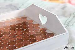 Krabičky - Tácka plná peňazí - 8709547_