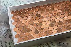 Krabičky - Tácka plná peňazí - 8709558_