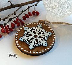Dekorácie - Vianočná ozdoba masív 1 - 8707925_