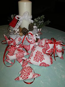 Dekorácie - Ozdoby na vianočný stromček - 8709368_