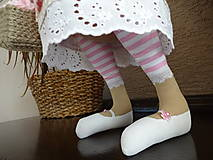 Bábiky - Ružovohnedá myška - 8709510_
