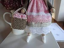 Bábiky - Ružovohnedá myška - 8709511_