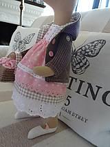 Bábiky - Ružovohnedá myška - 8709513_