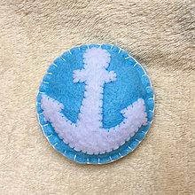Odznaky/Brošne - brož námořnická - 8706631_