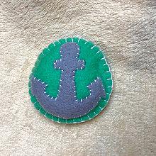 Odznaky/Brošne - brož námořnická - 8706660_