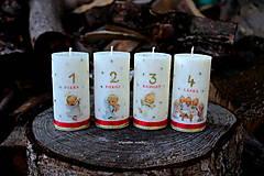 Anjelské adventné sviečky