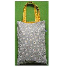 Nákupné tašky - ekoTaška na nákupy - margarétky - 8708633_