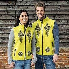 Iné oblečenie - Softshellová vesta Ľudový motív ornament 2 - 8707208_