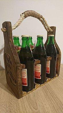 Iné - Drevená prepravka na pivo - 8706323_