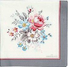 Papier - Servítka  G34- Marie Pale grey - 8708844_