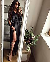 Šaty - Saténové šaty - 8705602_