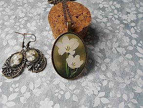 Sady šperkov - Biele tulipány - 8707878_