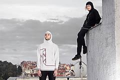 Svetre/Pulóvre - INKASO- originální pánský svetr s kapucí - 8705884_