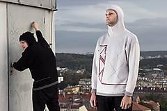 Svetre/Pulóvre - INKASO- originální pánský svetr s kapucí - 8705885_