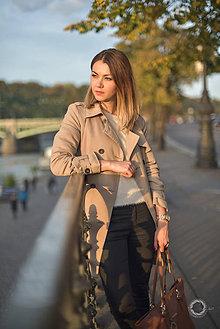 Kabáty - Béžový trenčkot - 8709406_