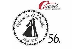 Svadobné razítko na želanie 56
