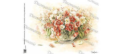 Papier - Ryžový papier Decomania 5196 - 35x50cm, ihneď - 8707912_