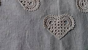 Úžitkový textil - *** Ovál srdiečkový I. *** - 8713020_