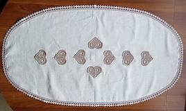 Úžitkový textil - *** Ovál srdiečkový I. *** - 8713024_