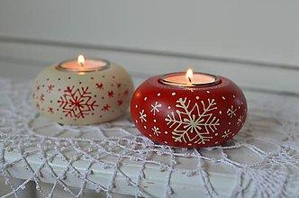 Svietidlá a sviečky - Vianočné svietničky - 8711632_
