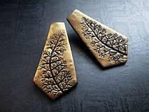 Náušnice - Napichovacie náušničky s potlačou - 8711273_